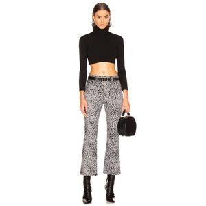 Rag & Bone Cheetah Crop Flare Pants
